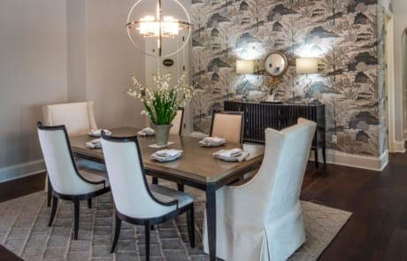 the falcon formal dining room