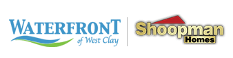 Waterfront of West Clay Logo